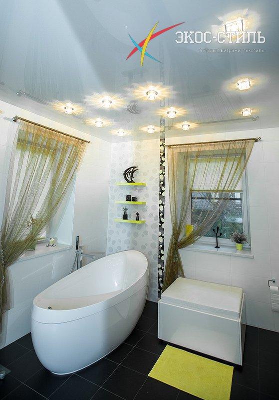 Фотопечать в ванной комнате фото