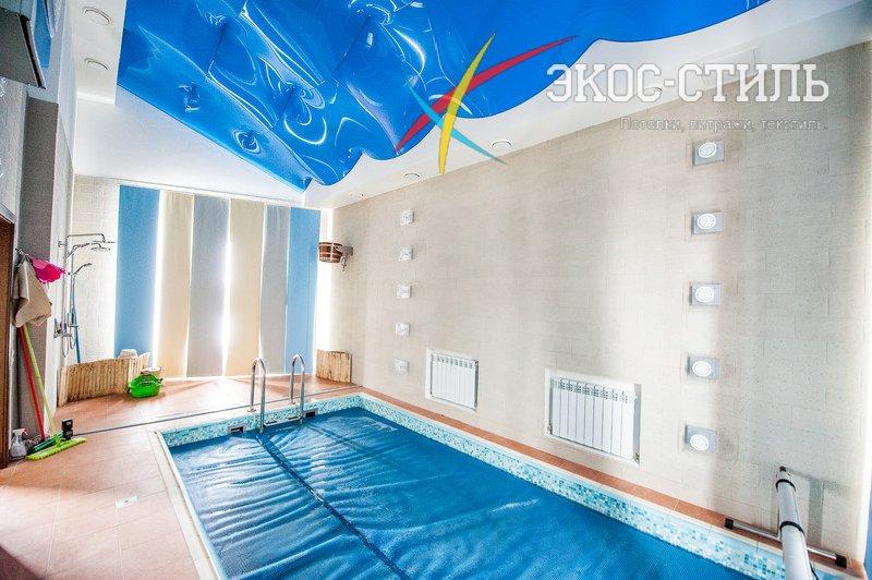 Натяжные потолки в ванной фотопечать фото, неповторимые варианты ... | 532x800